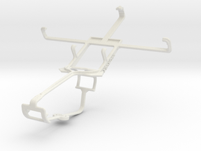 Controller mount for Xbox One & HTC One SV in White Natural Versatile Plastic