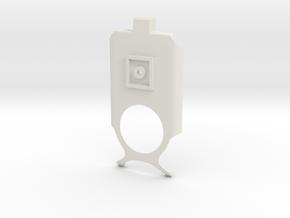 Lumia 1020 holder - bracket in White Natural Versatile Plastic