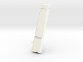 Astromech Radar Eye B in White Strong & Flexible Polished