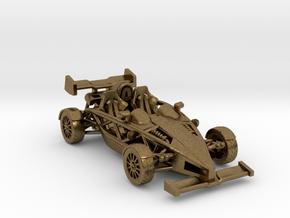 "Atom HO scale model w/wings 1.7"" RHD in Natural Bronze"
