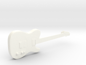Telecaster Keith Richards The Rolling Stones in White Strong & Flexible Polished