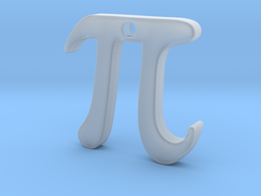 Pi in Smooth Fine Detail Plastic