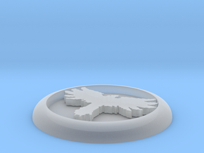 30mm Tabletop Wargame Crow Marker in Smooth Fine Detail Plastic