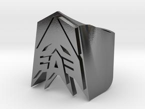 [Transformer] Decepticon Ring size #9 in Polished Silver