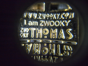 ZWOOKY Style 38 - Double Tag in 18k Gold