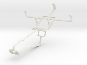 Controller mount for Xbox One Chat & Kyocera Hydro in White Natural Versatile Plastic