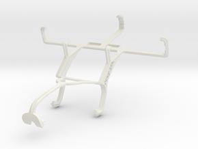 Controller mount for Xbox 360 & Kyocera Torque E67 in White Natural Versatile Plastic