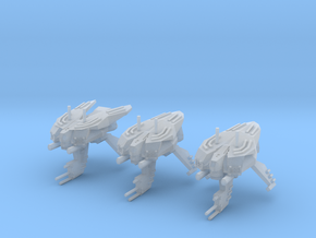 """Somtaaw """"Hive"""" Advanced Drone Frigates (3) in Smooth Fine Detail Plastic"""