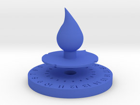 Life Counter Water in Blue Processed Versatile Plastic