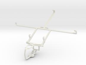 Controller mount for PS3 & Lenovo S5000 in White Natural Versatile Plastic