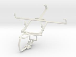 Controller mount for PS3 & Lenovo S720 in White Natural Versatile Plastic