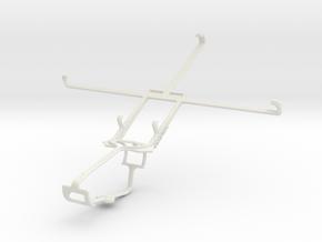 Controller mount for Xbox One & Lenovo S5000 in White Natural Versatile Plastic