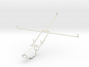 Controller mount for Xbox One & Lenovo Miix 2 10 in White Natural Versatile Plastic