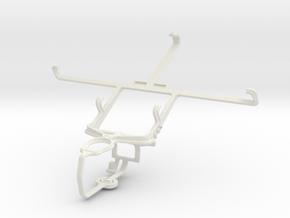 Controller mount for PS3 & Lenovo S920 in White Natural Versatile Plastic