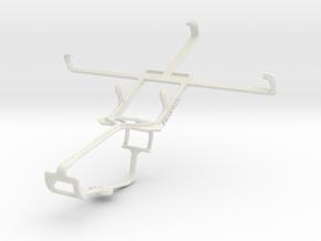 Controller mount for Xbox One & Lenovo S890 in White Natural Versatile Plastic