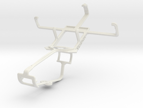 Controller mount for Xbox One & LG C710 Aloha in White Natural Versatile Plastic