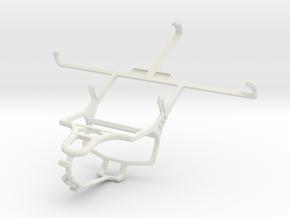 Controller mount for PS4 & LG G Flex in White Natural Versatile Plastic