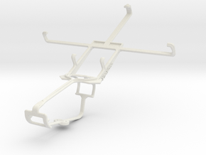 Controller mount for Xbox One & LG Intuition VS950 in White Natural Versatile Plastic
