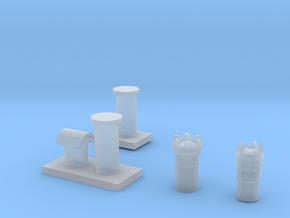 4 Chimneys 00 in Smooth Fine Detail Plastic