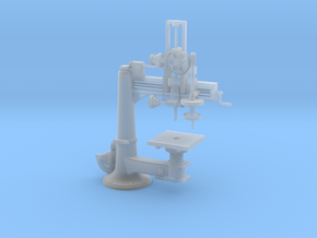 Radial Drill Press O Scale 1/48 in Smooth Fine Detail Plastic