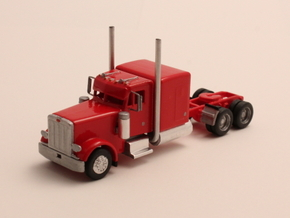 "1:160 N Scale Peterbilt 379 with 63"" Sleeper in Smooth Fine Detail Plastic"
