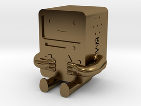 BMO is metal! in Polished Bronze