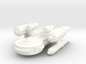 Gorn Dreadnought in White Strong & Flexible Polished