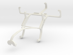Controller mount for Xbox 360 & LG Optimus L1 II E in White Natural Versatile Plastic