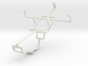 Controller mount for Xbox One & LG Optimus L3 II E in White Natural Versatile Plastic