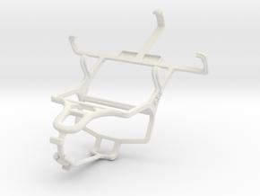 Controller mount for PS4 & LG Optimus L3 II Dual E in White Natural Versatile Plastic