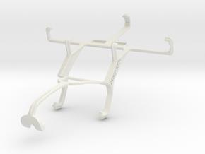 Controller mount for Xbox 360 & LG Optimus L5 E610 in White Natural Versatile Plastic