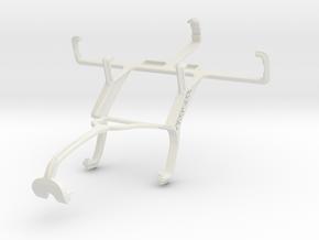 Controller mount for Xbox 360 & LG Optimus Net Dua in White Natural Versatile Plastic