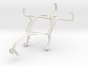 Controller mount for Xbox 360 & LG Optimus Zone VS in White Natural Versatile Plastic