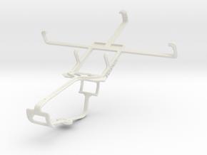 Controller mount for Xbox One & LG Spectrum VS920 in White Natural Versatile Plastic