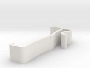 Blind Clip Version 1 in White Natural Versatile Plastic