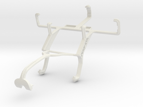 Controller mount for Xbox 360 & Micromax A25 in White Natural Versatile Plastic