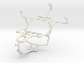 Controller mount for PS4 & Motorola Defy Mini XT32 in White Natural Versatile Plastic