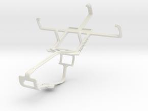 Controller mount for Xbox One & Motorola Defy Mini in White Natural Versatile Plastic