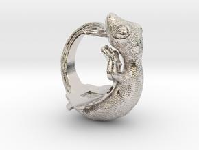 Gecko Size9 in Platinum