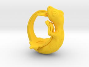 Gecko Size9 in Yellow Processed Versatile Plastic