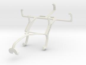 Controller mount for Xbox 360 & Motorola Defy Pro  in White Natural Versatile Plastic