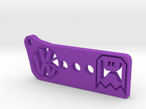 VW Pac-man in Purple Processed Versatile Plastic