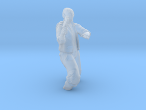 Captain Longview and Bullet Wound (Bullet Wound) in Smooth Fine Detail Plastic