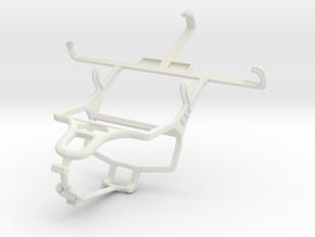 Controller mount for PS4 & Motorola DROID Mini in White Natural Versatile Plastic