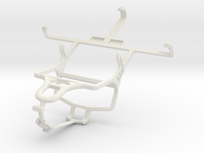 Controller mount for PS4 & Motorola RAZR M XT905 in White Natural Versatile Plastic