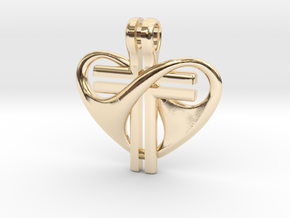 Love and Sacrifice - LARGE in 14K Yellow Gold