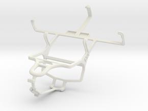 Controller mount for PS4 & NEC Terrain in White Natural Versatile Plastic