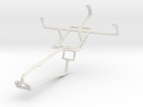 Controller mount for Xbox One Chat & NIU Niutek 3G in White Natural Versatile Plastic