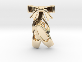 Ballet Shoes in 14K Yellow Gold