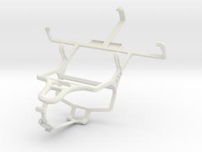 Controller mount for PS4 & NIU Niutek 3G 3.5 N209 in White Natural Versatile Plastic